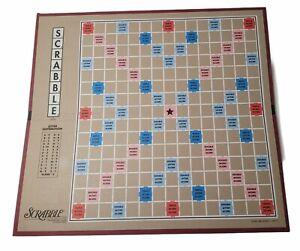 """Vintage 1998 14""""x15"""" Scrabble Board Replacement Piece Part"""