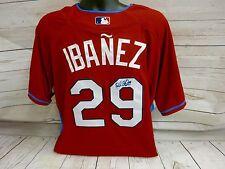 Raul Ibanez Signed Philadelphia Phillies All Star Jersey LOM COA (JSY18)