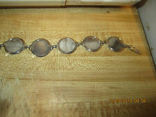 5 coin Nickel Bracelet Blank/ 10 cent coin Blanks total 12