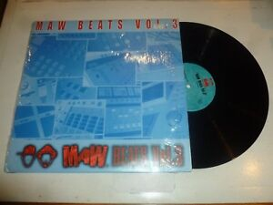 "MAW - MAW Beats Vol 3 - 2000 USA 7-track 12"" Vinyl Single"