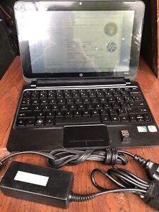 HP MINI 210-1000  Laptop Computer Intel Atom 1gb 1.67z w/ Carrying Case Used