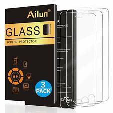 Protector de Pantalla iPhone 8 7 plus vidrio templado Plus y 6s 6s 3 Paquete Plus