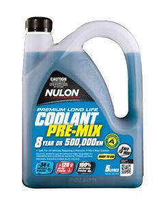 Nulon Blue Long Life Premix Coolant 5L BLLTU5 fits Nissan Tiida 1.8 (C11)
