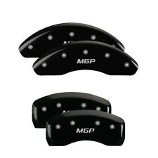 USED MGP 4 Caliper Covers Black Engraved Front & Rear For 2018-2020 Toyota Camry