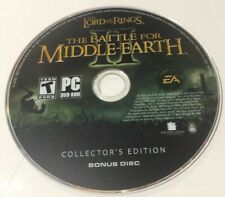 LOTR: The Battle for Middle-earth Anthology ~ BFME II 2 Bonus Disc ONLY