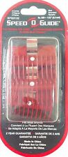 """SPEED O GUIDE Clipper Blade Guard Attachment Comb 1/32"""" No.000 3 Combs - SPG3132"""