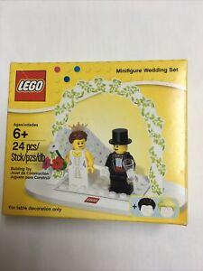 New Lego Set 853340 24 pcs Wedding Set Cake Topper Table Decoration *Light wear*