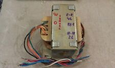 5GG11 TAMRADIO PVX-125 TRANSFORMER FROM STEREO AMP: ACCEPTS 120 / 240V INPUT