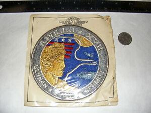 "Vintage/Original Apollo 17 5"" Patch NASA Hilborn Hamburger Recovery ""AS17UNK3"""