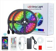 LED Stripe SMD/RGB Wetterfest Leiste Streifen 5050 Musik Lichterkette Dimmbar