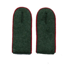 German WW2 Army M43 enlisted ranks shoulder boards.Red piping
