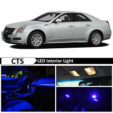 16x Blue Interior LED Lights Package Kit for 2003-2007 Cadillac CTS