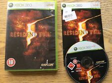 Resident Evil 5 Xbox360 Game! Complete! Look In The Shop!