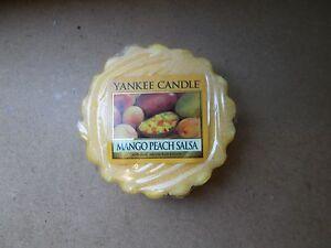 Yankee Candle Usa Deerfield Mango Peach Salsa Wax Tart