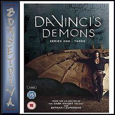 DA VINCI'S DEMONS - COMPLETE SERIES 1 2 & 3 *BRAND NEW DVD BOXSET***
