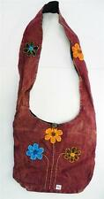T384 FASHION TRENDY SHOULDER STRAP COTTON BAG  MADE IN NEPAL