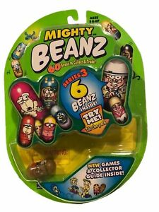 Moose's Mighty Beanz Original Series-3 Starter Pack 6 Beanz Spin Master 2003