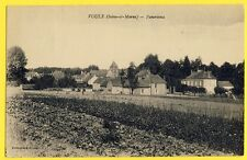 cpa VOULX en 1929 (Seine et Marne) PANORAMA Collection Renier