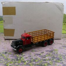 Franklin Mint 1939 Peterbilt Stake Truck 1:32 scale diecast model vgc boxed