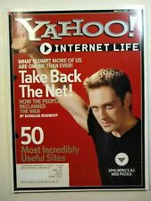 Yahoo Internet Life magazine - July 2001 - 50 most incredibly useful sites