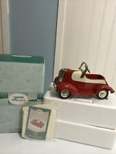 Hallmark Kiddie Car Classics 1938 Garton Lincoln Zephyr Luxury Edition