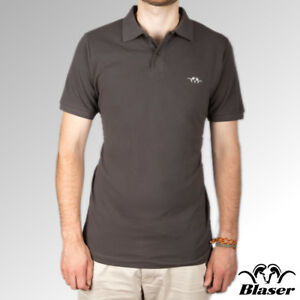 Blaser Polo Shirt Short Sleeve Anthracite