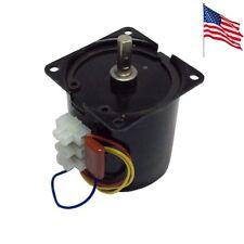 60KTYZ AC Motor Low Speed 15RPM 14W 220V 50HZ/60HZ AC Synchronous Motor CW/CCW