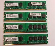 4 barrettes de 1 Go SN212NG08EAF - DDR2 667 -1GBX8