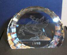 """Swarovski """"Pegasus"""" Paperweight with Original Box 9409 060 002"""