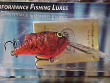 "SALMO Discontinued Deep 1 3/4"" 1/4oz Boxer BX4SDR-RC in Color RED CRAW Lure"