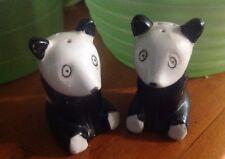 Nice Vintage Panda Bears S&P Shakers Collector Japan Zoo Animal