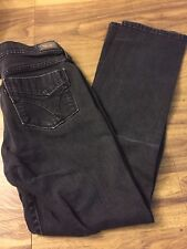 Levi's 505 Straight Leg Black Tab Black Jeans Sz. 8M