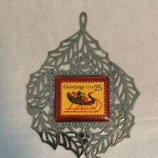 1989 Usps Stamp Ornament #10467