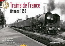 Nicolas Collection nc4f libro Trains de France années 1950 in francese NUOVO + OVP