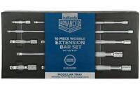Halfords Advanced Extension Bar Modular Tray Set  10pc Extension Bar 1/4 3/8 1/2