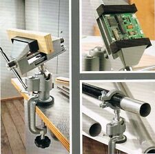 Feinmechaniker Schraubstock inkl. Rohrhalter, mit Kugelgelenk drehbar/schwenkbar