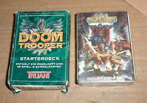 Doom Trooper Starterdeck / Truant / Karten noch in Folie