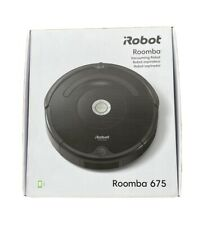 iRobot Roomba 675 Wi-Fi Connected Self-Charging Robot Vacuum NEW SEALED