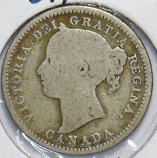 Canada 1883 10 Cents 490244 combine shipping