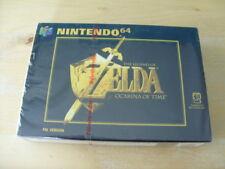 LEGEND OF ZELDA OCARINA OF TIME Nintendo 64 UK PAL BRAND NEW & FACTORY SEALED