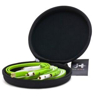 Neo Oyaide 1.0m D+ Class B Box Set 2 x RCA Phono Line In + USB Club DJ Cable