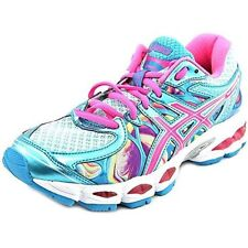 ASICS Women's Gel- Nimbus 16 Running Shoe Iridescent Pink Capri Blue Size 5 New