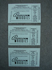 BEDROOM BUDDIES Hosted by Bobby Rivers 3 Original Studio Audience 1992 Tickets