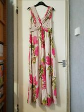 Floral patterned Peony Maxi dress by boden size 10 R wh822