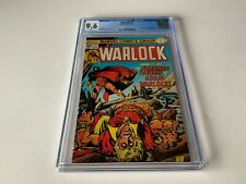 WARLOCK 11 CGC 9.6 WHITE PAGES THANOS IN BETWEENER MARVEL COMICS 1976