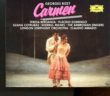 Bizet / Carmen - Claudio Abbado - 3CD Fatbox - Made In West Germany - MINT