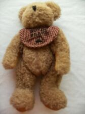 "Boyds Bear Bosley 9"" Plush Soft Toy Stuffed Animal"