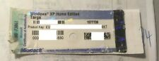 WINDOWS XP Home Edition - Serial Key - OEM Label Targa - 24