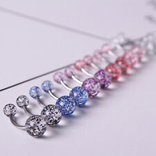 Personality Crystal Belly Button Rings Body Ring Navel Piercing Women Jewelry