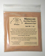 Moroccan Red Clay Powder (Rhassoul) - 1 oz. - 100% Pure - The Elder Herb Shoppe